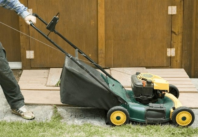 Why lawn mower won't start