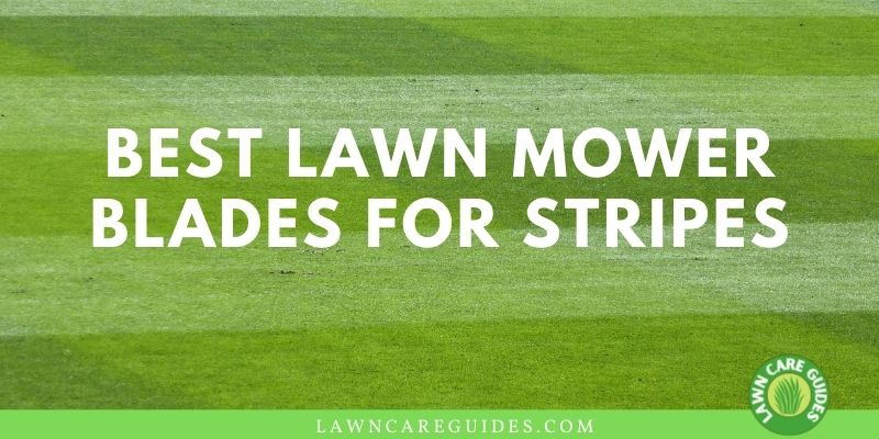 best lawn mower blades for stripes