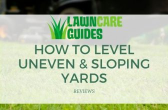 how to level uneven & sloping yards