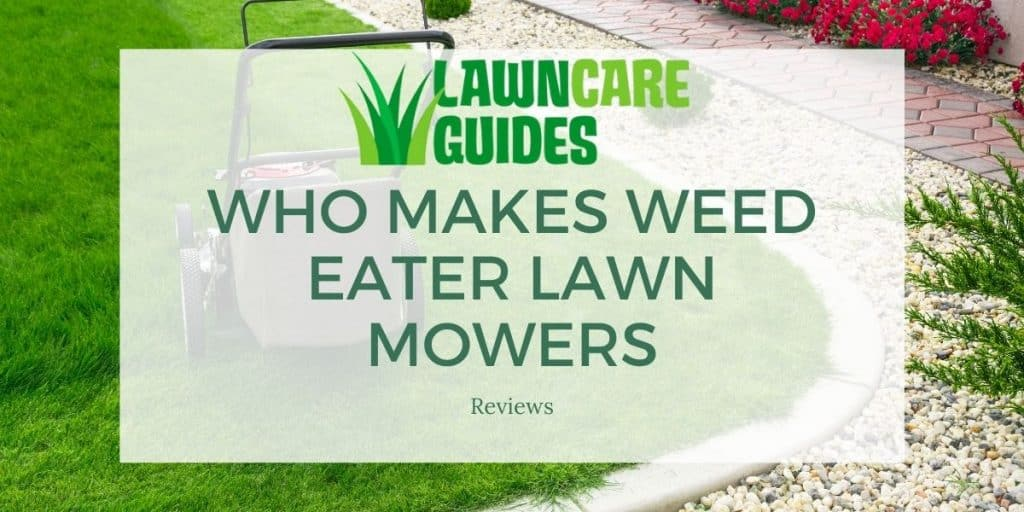 Who Makes Weed Eater Lawn Mowers