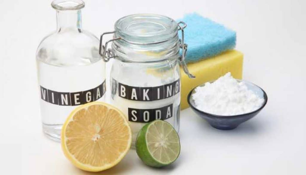 use baking soda to control weeds