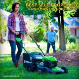 Best Self Propelled Lawn Mowers Under $300 – [2021 Buying Guide]